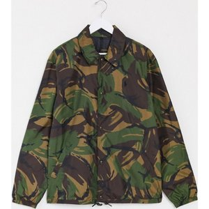 ラルフ ローレン Polo Ralph Lauren メンズ ジャケット コーチジャケット アウター Baraccuda player logo nylon coaches jacket in camo print|fermart