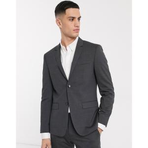 カルバンクライン Calvin Klein メンズ スーツ・ジャケット アウター Tate stretch wool suit jacket グレー fermart