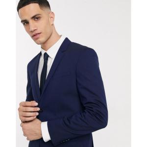 カルバンクライン Calvin Klein メンズ スーツ・ジャケット アウター Tate Stretch Wool Suit Jacket ネイビー fermart