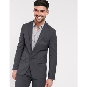 カルバンクライン Calvin Klein メンズ スーツ・ジャケット アウター modern textuerd suit jacket グレー fermart