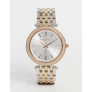 マイケル コース Michael Kors レディース 腕時計 ブレスレットウォッチ Darci mix metal bracelet watch MK3203 マルチカラー|fermart