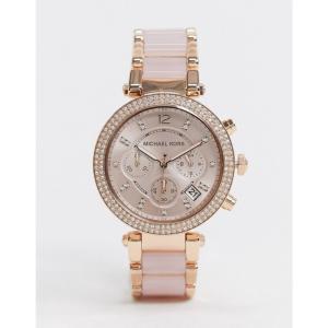 マイケル コース Michael Kors レディース 腕時計 ブレスレットウォッチ Parker rose gold pink bracelet watch MK5896 ローズゴールド|fermart