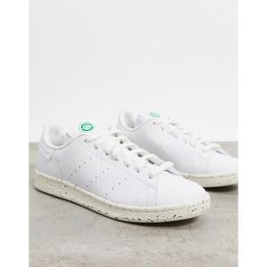 アディダス adidas Originals メンズ スニーカー スタンスミス シューズ・靴 Clean Classics Sustainable Stan Smith trainers in white ホワイト|fermart