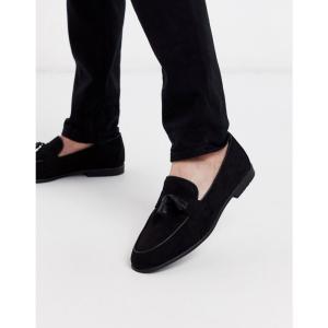 トップマン Topman メンズ ローファー シューズ・靴 loafer in black ブラック fermart