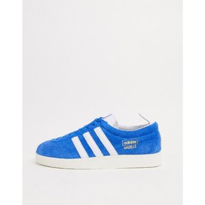 アディダス adidas Originals メンズ スニーカー シューズ・靴 Gazelle Vintage Trainers In Blue Suede ブルー|fermart