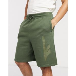ハイテック Hi-Tec メンズ ショートパンツ ボトムス・パンツ sweat shorts in green サイプレスグリーン|fermart