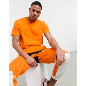 ハイテック Hi-Tec メンズ Tシャツ トップス chest print t-shirt in orange|fermart