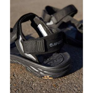ハイテック Hi-Tec メンズ サンダル シューズ・靴 Ula Raft hiking sandal in black ブラック|fermart