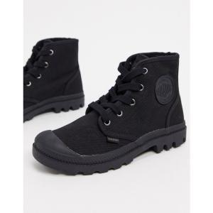 パラディウム Palladium レディース ブーツ ショートブーツ レースアップブーツ シューズ・靴 Pampa Hi lace up ankle boots in black ブラック|fermart
