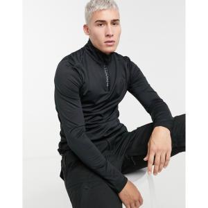 プロテスト Protest メンズ フリース トップス Will 1/4 zip fleece in black トゥルーブラック fermart