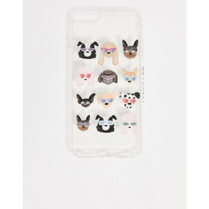 スキニーディップ Skinnydip ユニセックス iPhone (8 Plus)ケース ruff iPhone 6/6S/7 PLUS & 8 PLUS case マルチカラー|fermart
