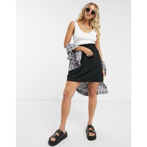 ヴェロモーダ Vero Moda レディース スカート paperbag waist skirt in black ブラック|fermart