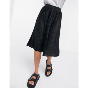 ヴィラ Vila レディース スカート pleated skirt in black ブラック|fermart