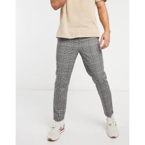 ネイティブユース Native Youth メンズ ボトムス・パンツ carson check co-ord trousers in grey マルチカラー|fermart