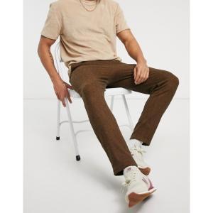 ネイティブユース Native Youth メンズ ボトムス・パンツ colton striped co-ord relaxed trousers in khaki カーキ|fermart