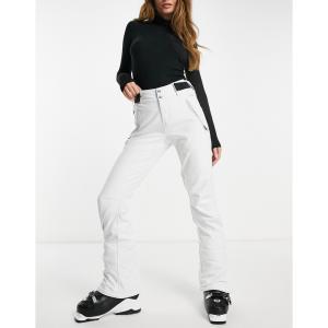 プロテスト Protest レディース スキー・スノーボード ソフトシェル ボトムス・パンツ Lole softshell ski pant in white fermart