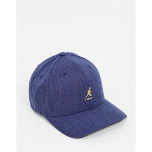 カンゴール Kangol メンズ キャップ ベースボールキャップ 帽子 Wool Flexfit Baseball Cap ブルー|fermart