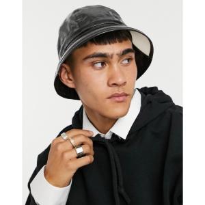 カンゴール Kangol メンズ 帽子 レインハット Rain Hat ブラック|fermart