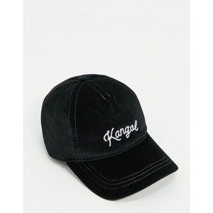 カンゴール Kangol メンズ キャップ ベースボールキャップ 帽子 Stitch Baseball Cap ブラック|fermart