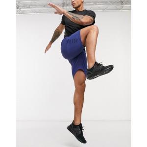 アディダス adidas メンズ ショートパンツ ボトムス・パンツ Training Shorts ブルー|fermart