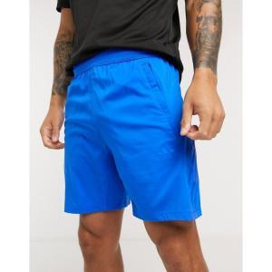 アディダス adidas メンズ ショートパンツ ボトムス・パンツ Training Tonal Stripe Shorts ブルー|fermart