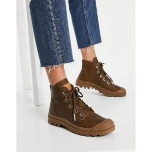 パラディウム Palladium レディース ブーツ レースアップブーツ シューズ・靴 Pampa Hi Lace Up Boots In Carafe|fermart