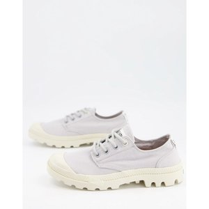 パラディウム Palladium レディース スニーカー レースアップ シューズ・靴 Pampa Organic Casual Lace-Up Trainers In Lilac|fermart