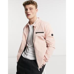 ネイティブユース Native Youth メンズ ジャケット スイングトップ アウター harrington jacket in pink ピンク|fermart