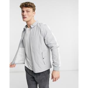 ネイティブユース Native Youth メンズ ジャケット スイングトップ アウター harrington jacket with side pockets in grey グレー|fermart