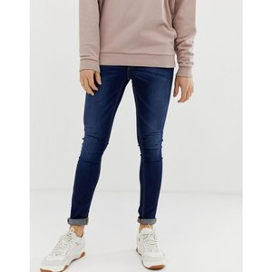 エイソス ASOS メンズ ジーンズ ボトムス ASOS Extreme Super Skinny Jeans In Dark Wash Dark blue|fermart