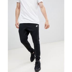 ナイキ メンズ ジョガーパンツ ボトムス・パンツ Nike Cuffed Club Jogger In Black 804408-010 Black|fermart