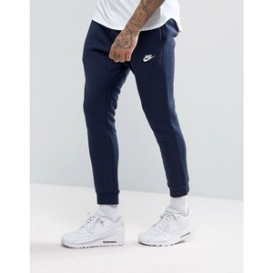 ナイキ メンズ ジョガーパンツ ボトムス・パンツ Nike Cuffed Club Jogger in Navy 804408-451 Navy|fermart