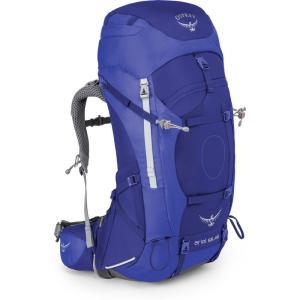 オスプレー Osprey レディース バックパック・リュック ハイキング・登山 Ariel 65 Hiking Backpack Blue|fermart