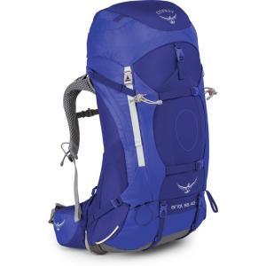 オスプレー Osprey レディース バックパック・リュック ハイキング・登山 Ariel 55 Hiking Backpack Blue|fermart