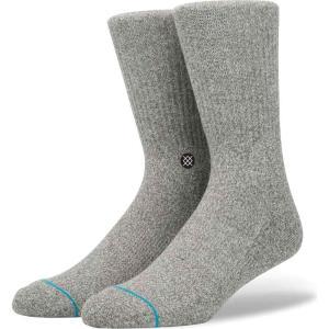 スタンス Stance メンズ ソックス インナー・下着 icon fashion socks Heather Grey|fermart