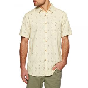 ビラボン Billabong メンズ 半袖シャツ トップス Sundays Jaquard Short Sleeve Shirt Yellow|fermart
