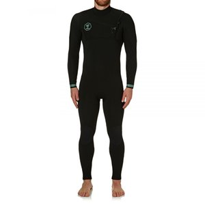 ヴィスラ Vissla メンズ ウェットスーツ 水着・ビーチウェア 7 Seas 4/3mm 2018 Chest Zip Wetsuit Black fermart