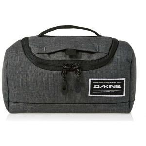 ダカイン Dakine メンズ ポーチ トラベルポーチ Revival Kit MD Wash Bag Carbon|fermart