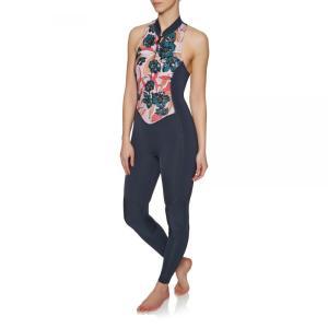 ビラボン Billabong レディース ウェットスーツ 水着・ビーチウェア Salty Jane 2mm 2018 Front Zip Sleeveless Long Jane Wetsuit Blue|fermart
