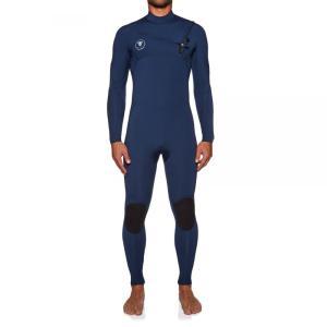 ヴィスラ Vissla メンズ ウェットスーツ 水着・ビーチウェア 7 Seas 4/3mm Chest Zip Wetsuit Blue fermart