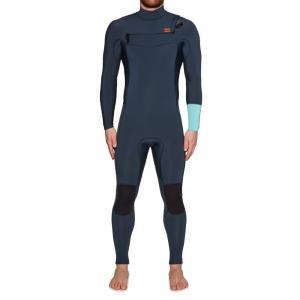ビラボン Billabong メンズ ウェットスーツ 水着・ビーチウェア Furnace Revolution 4/3mm 2019 Chest Zip Wetsuit Blue|fermart