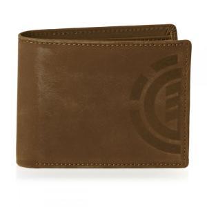 エレメント メンズ 財布 Element Daily Elite Wallet Brown|fermart