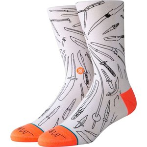 スタンス Stance メンズ ソックス インナー・下着 oblow poke fashion socks White|fermart