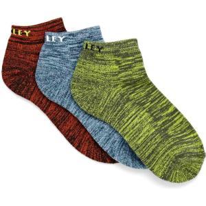 オークリー Oakley メンズ ソックス 3点セット インナー・下着 sport 3pk sports socks New Dark Brush|fermart