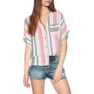 リップカール Rip Curl レディース ブラウス・シャツ トップス oasis muse short sleeve shirt Multico|fermart