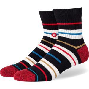 スタンス Stance メンズ ソックス インナー・下着 barred fashion socks Black|fermart