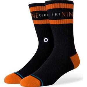 スタンス Stance メンズ ソックス インナー・下着 nine club fashion socks Black|fermart