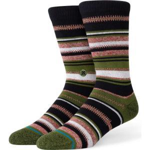 スタンス Stance メンズ ソックス インナー・下着 ernesto fashion socks Olive|fermart