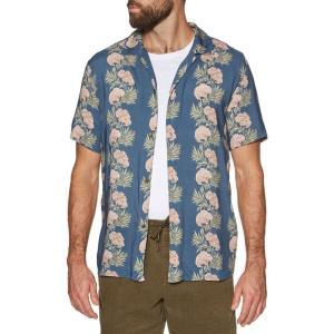 リズム Rhythm メンズ 半袖シャツ トップス honolulu short sleeve shirt Pacific Blue fermart