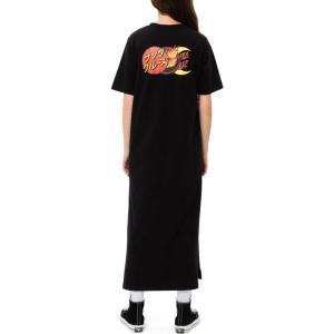 サンタクルーズ Santa Cruz レディース ワンピース ワンピース・ドレス Dot Group Dress Black|fermart